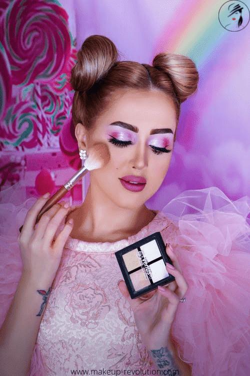 Goth makeup brushes